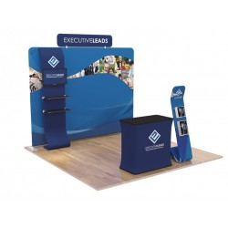 10 x 10ft Portable Exhibition Stand Display Booth F