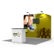 10 x 10ft Portable Exhibition Stand Display Booth A
