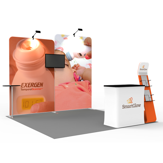 10 x 10ft Portable Exhibition Stand Display Booth B