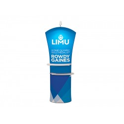 Curved Top - Tension Fabric Banner Stand