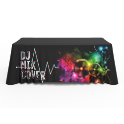 6ft Quality Custom Logo Full Color Printed Loose Table Throw
